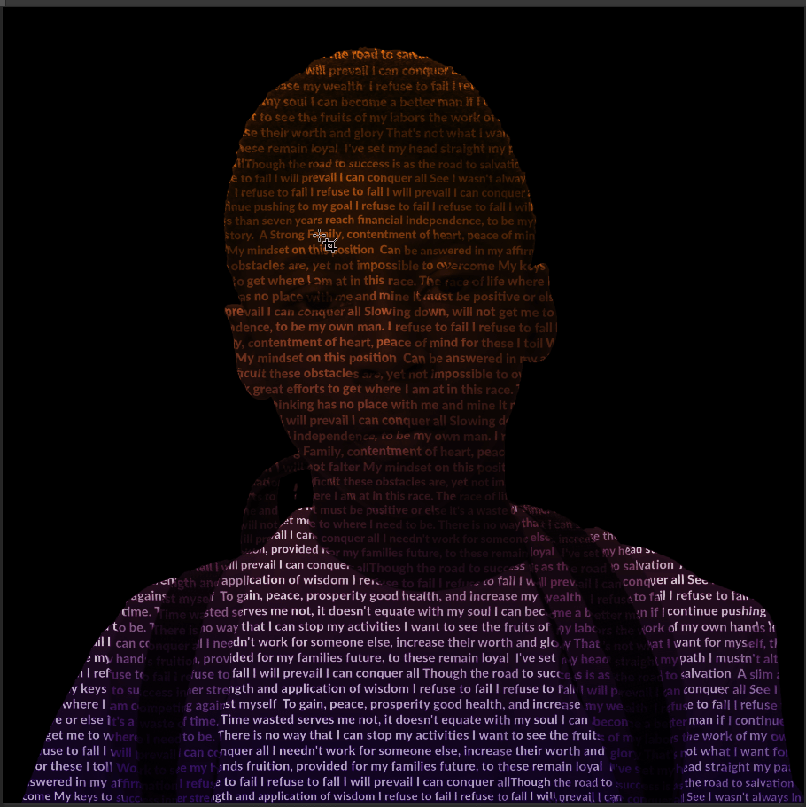 Making a simple typographic Poster Using Photoshop with a Photo for Graphics students level 2, 3 and AS level,