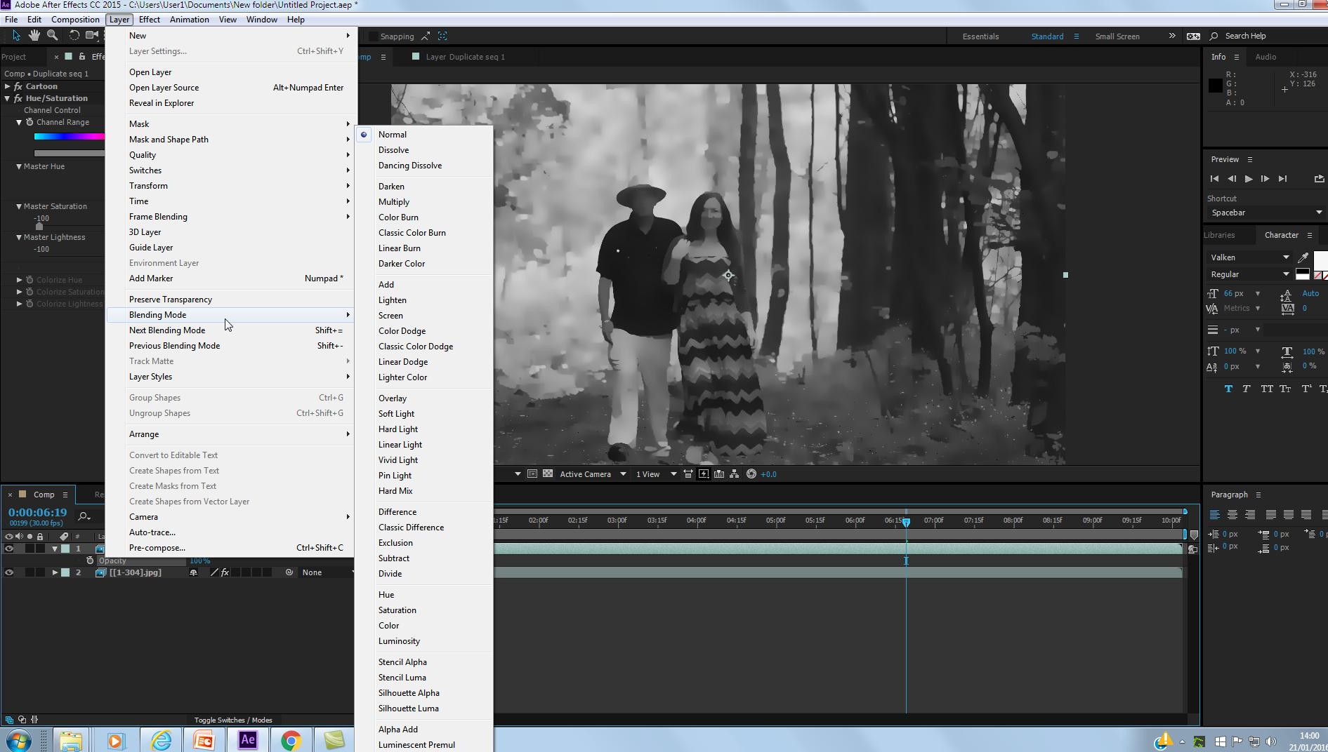 Editing your pixilation animation - cartoon effect in AE easy, Editing your pixilation animation – cartoon effect in AE easy, Anna Gabali