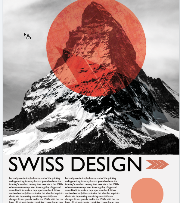 Introduction to Swiss Design Style Photoshop Workshop