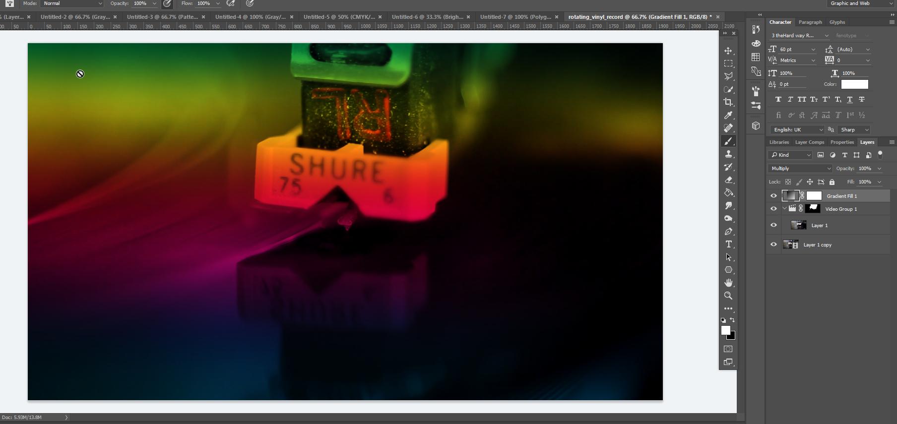 Level 3 FMP Workshop Design Trends Cinemagraph,