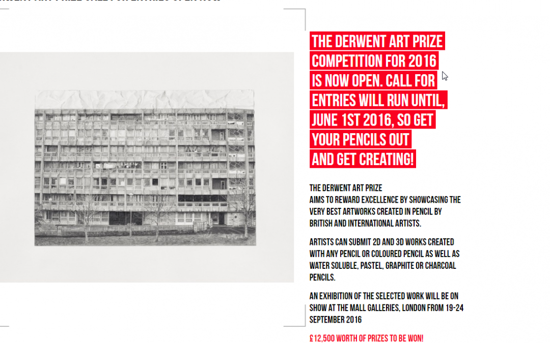 The Derwent Art Prize 2016 Competition