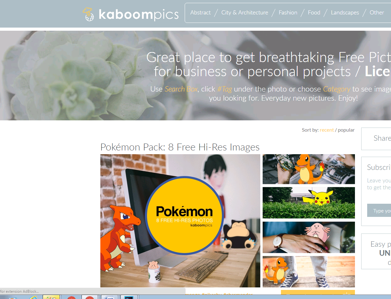KABOOMPCIS splash screen