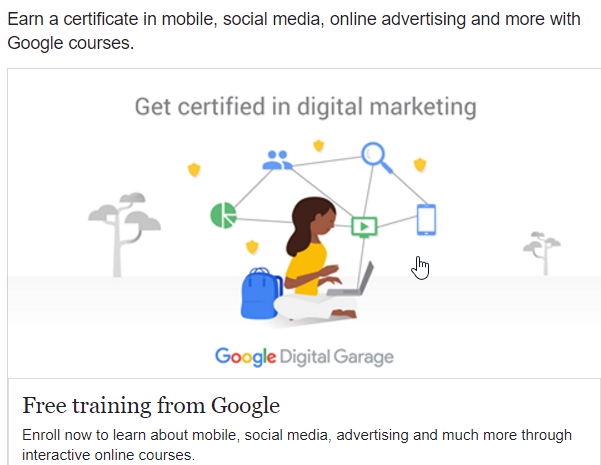 Digital Marketing – Get Certified with Google